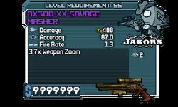AX300 XX Savage Masher kx