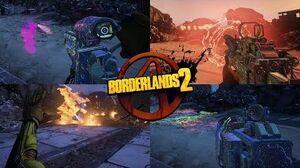 Borderlands 2 Showcase - All Effervescent (Rainbow) Weapons & Items (2019)