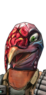 Голова - Меха-индюк