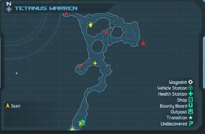 Map TetanusWarren