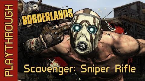 Scavenger Sniper Rifle
