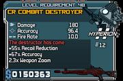 Cr combat destroyer 48