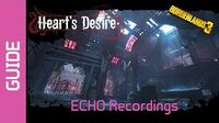 Heart's Desire ECHO Recordings