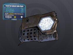 LV 30 Evened Up Explosive Spike Shield
