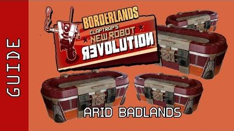 Arid Badlands Chests Guide