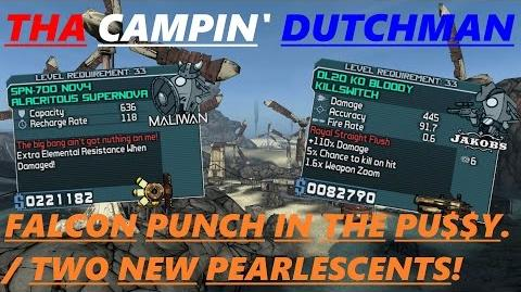 Borderlands Falcon Punch in the PU$$Y! Two new pearlescents! (Let's play 97)