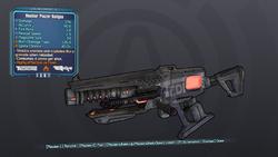 PreSequel Nuclear Phazer Railgun lv29