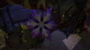 Деактивированный зараженный цветок
