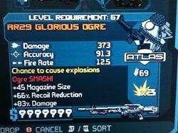 AR29 GLORIOUS OGRE 67