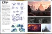 Borderlands 3 Страницы из книги концепт-артов к игре
