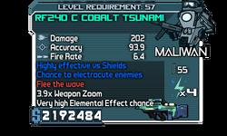 RF240 C Cobalt Tsunami