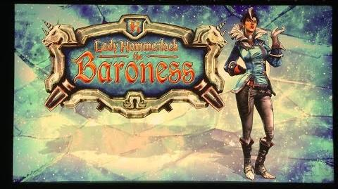 Borderlands Lady Hammerlock the Baroness Trailer - PAX South 2015