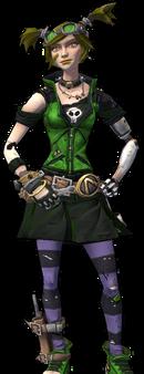 Gaige-skin-dont call her green