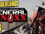 El arsenal secreto del general Knoxx