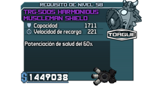 TRG-50OS Harmonious Muscleman Shield