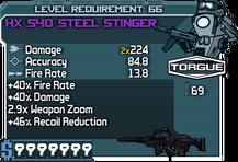 HX 540 Steel Stinger
