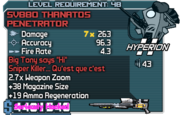 Sv880 thanatos penetrator