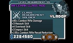 Rifleman Class Mod