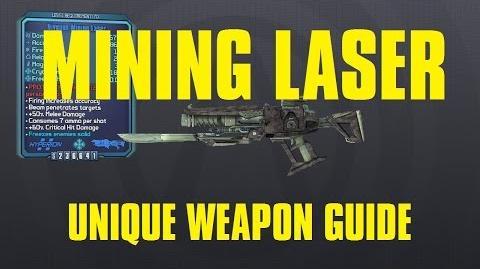 Mining Laser Unique Hyperion Laser Borderlands The Pre-Sequel!