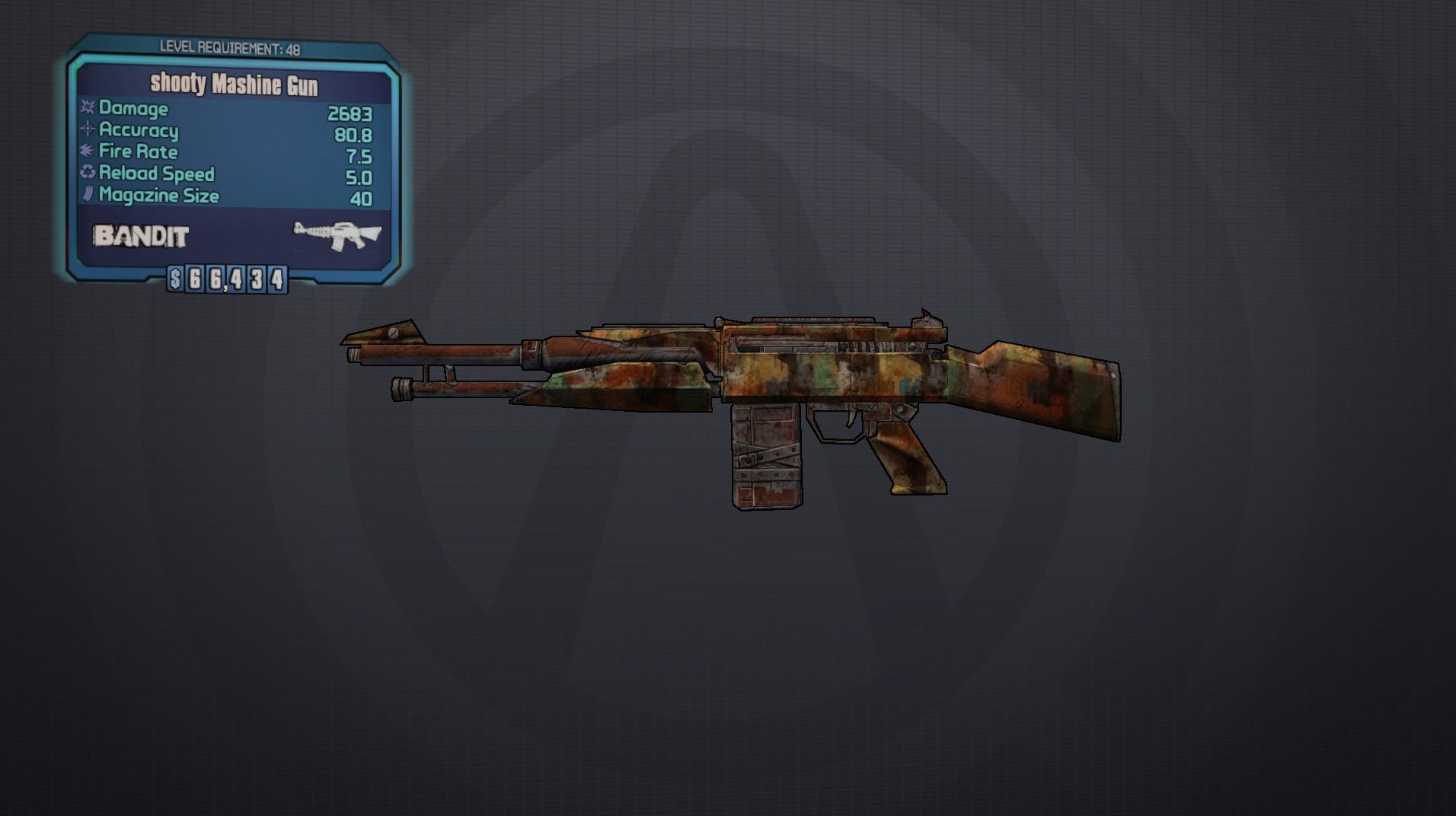 Mashine Gun | Borderlands Wiki | FANDOM powered by Wikia