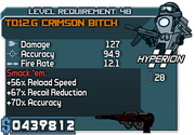 Td12-g crimson bitch 48