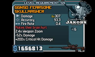 GGN50 Fearsome Skullmasher