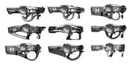 Borderlands2 weapon maliwan smg sketches 02 by kevin duc