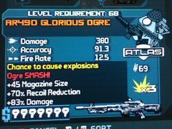 AR490 GLORIOUS OGRE