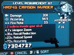 HRD4.G CRIMSON INVADER