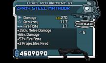 ZPR14 Steel Matador