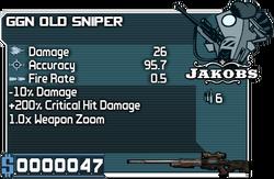 GGN Old Sniper
