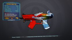Maximized Logan's Gun