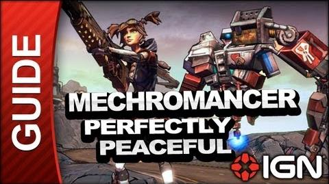 Perfectly Peaceful - Mechromancer Walkthrough