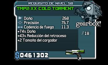 TMP2-XX Cold Torment