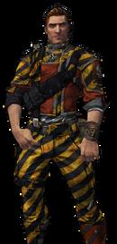 BL2-Axton-Skin-Crash Test Soldier