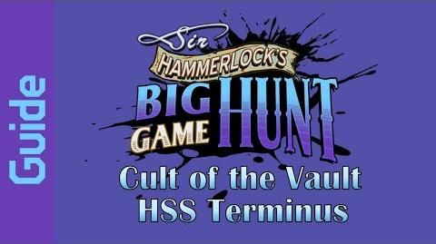 BL2 HSS Terminus Cult of the Vault Guide