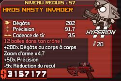 HRD5 Nasty Invader