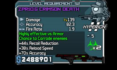 ZPR10.G Crimson Death