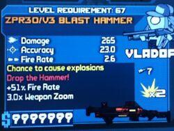 ZPR30V3 BLAST HAMMER