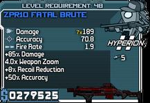 ZPR10 Fatal Brute
