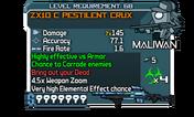 ZX10 C Pestilent Crux