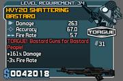 Shattering bastard