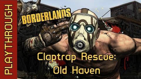 Claptrap Rescue Old Haven