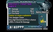 VRR350 C Erupting Sniper