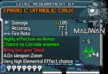 ZPR20 C Vitriolic Crux