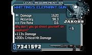 Dr. F TFC Whitting's Elephant Gun