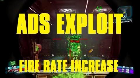 ADS Pistol Firing Exploit with Nisha Borderlands The Pre-Sequel!
