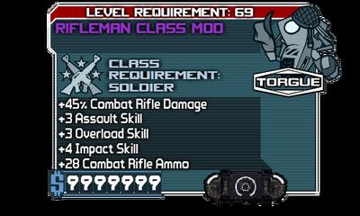 Rifleman Class Mod111