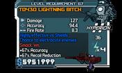 TD430 Lightning Bitch