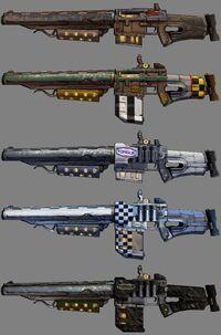 Torgue Shotguns Range 1
